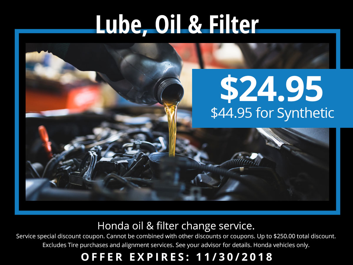 photograph about Honda Oil Change Printable Coupon identified as Honda Artificial Oil Difference Exclusive Coupon Lute Riley Honda