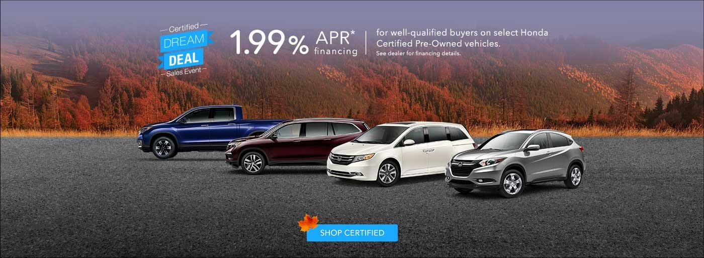 Honda Certified Pre Owned Inventory Used Cars Trucks Suvs Near