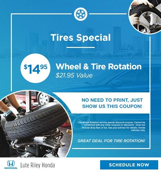 Mazda Oil Change Coupon: Lute Riley Honda Service Specials