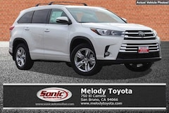 New 2018 Toyota Highlander Limited V6 SUV in the Bay Area