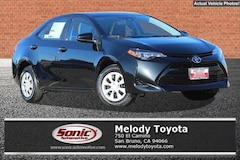 New 2018 Toyota Corolla L Sedan in the Bay Area