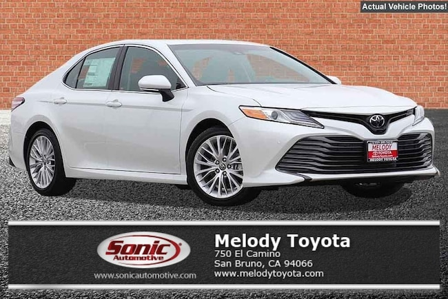 New 2018 Toyota Camry XLE Sedan in the Bay Area
