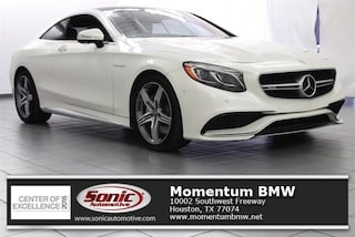 Used 2017 Mercedes-Benz AMG S 63 4MATIC Coupe for sale in Houston