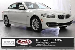 Used 2016 BMW 535i Sedan in Houston