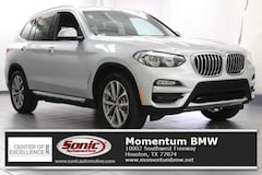 New 2019 BMW X3 sDrive30i SAV for sale in Houston