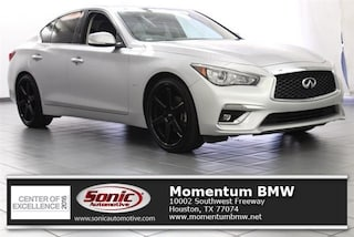 Used 2018 INFINITI Q50 3.0t LUXE Sedan TJM363458 for sale near Houston