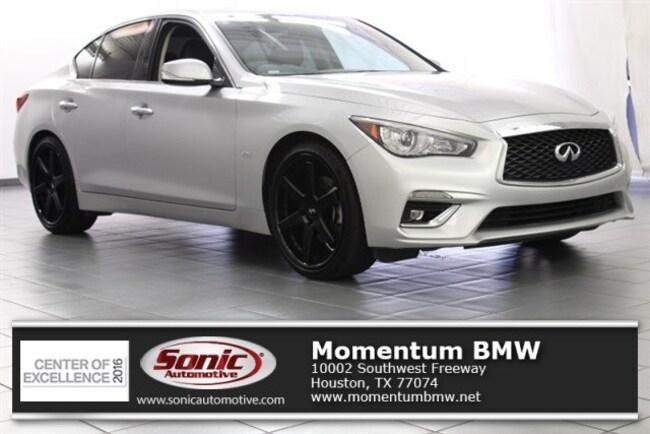 Used 2018 INFINITI Q50 3.0t LUXE Sedan in Houston