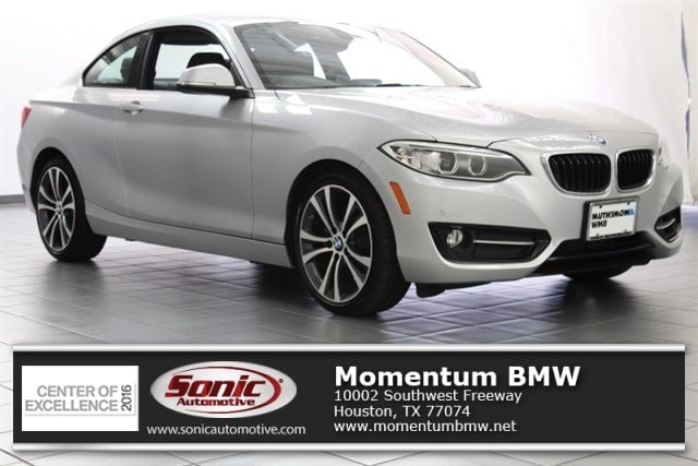 Used 2016 BMW 228i w/SULEV Coupe for sale in Houston