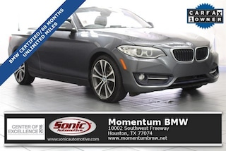 Certified 2016 BMW 228i 228i Convertible in Houston