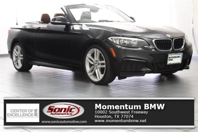 Used 2016 BMW 228i Convertible in Houston