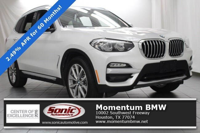 Used 2019 BMW X3 sDrive30i SAV in Houston