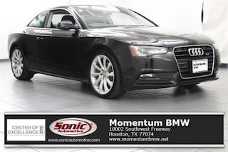 Used 2013 Audi A5 Premium Plus 2dr Cpe Auto Quattro 2.0T Coupe for sale in Houston, TX