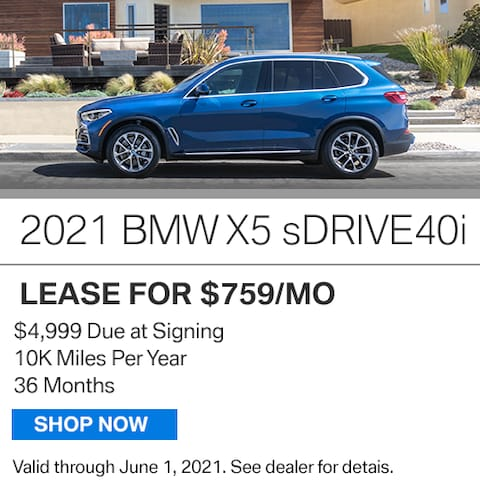 New Vehicle Special - x5
