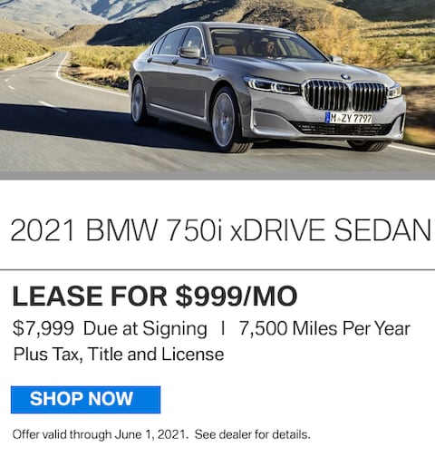 New Vehicle Special - 750i