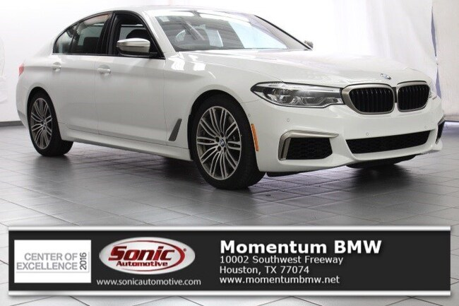 New 2019 BMW M550i xDrive Sedan in Houston