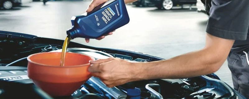 BMW Oil Change Service in Houston