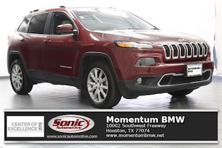 Used 2018 Jeep Cherokee Limited FWD SUV for sale in Houston