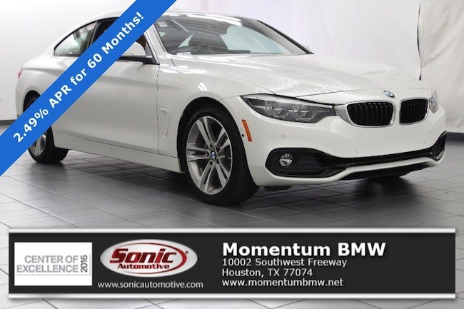 Used 2019 BMW 430i Coupe in Houston