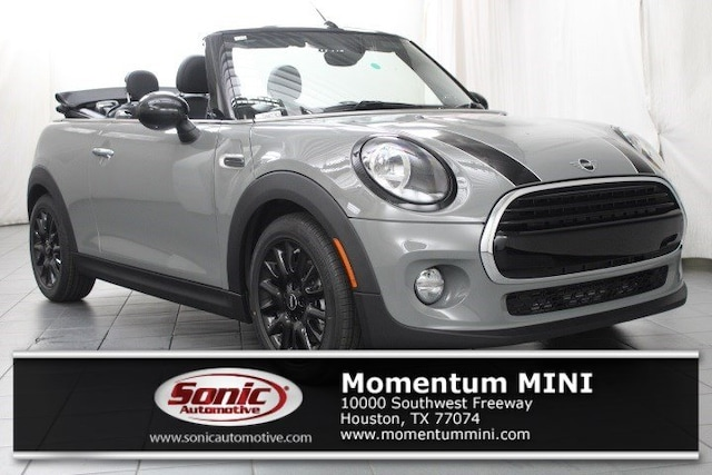 Used 2019 MINI Convertible Cooper  FWD Convertible for sale in Houston