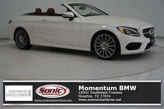 Used 2017 Mercedes-Benz C-Class C 300  Cabriolet Cabriolet for sale in Houston
