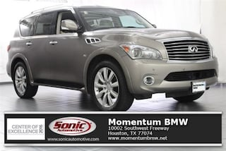 Used 2014 INFINITI QX80 with Theater Package SUV for sale in Houston