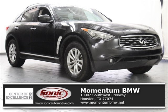 Used 2010 INFINITI FX35 RWD 4dr SUV for sale in Houston
