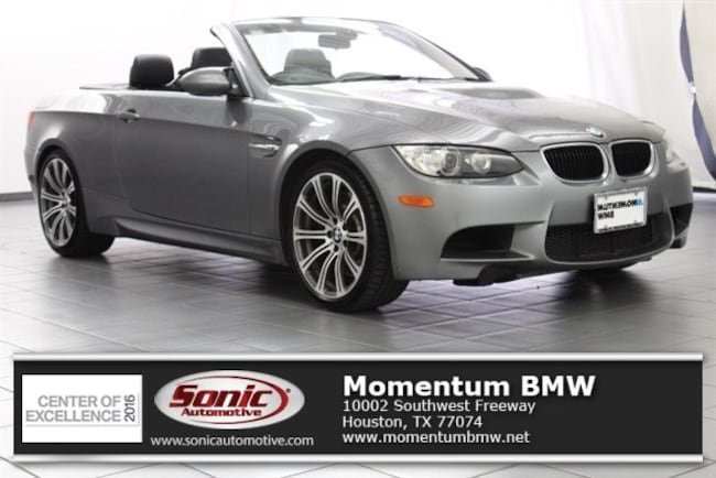 Used 2012 BMW M3 Convertible in Houston