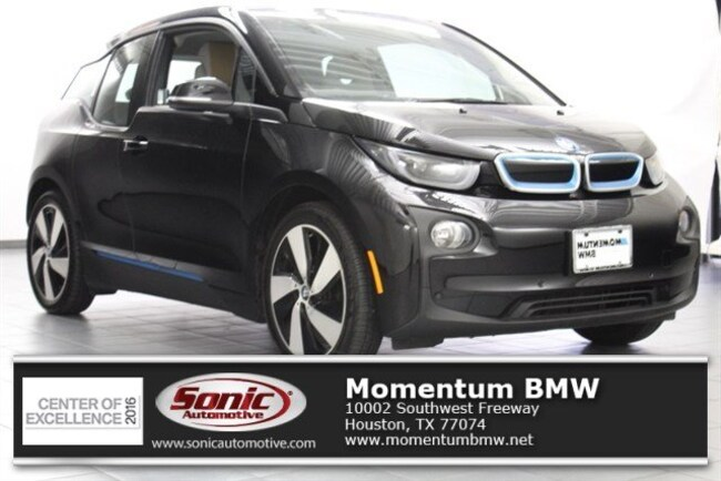 Used 2016 BMW i3 with Range Extender Hatchback in Houston
