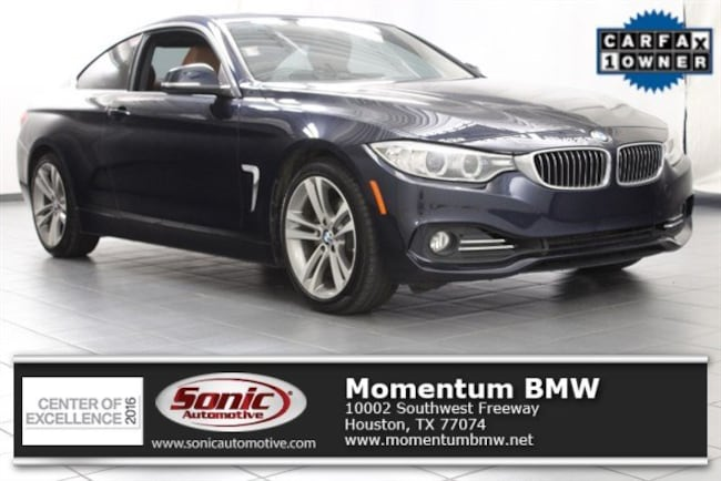 Certified Used 2016 BMW 428i Coupe in Houston