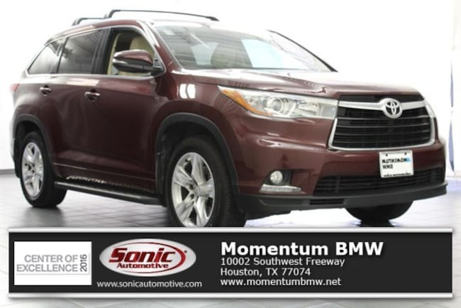 Used 2015 Toyota Highlander Limited SUV in Houston