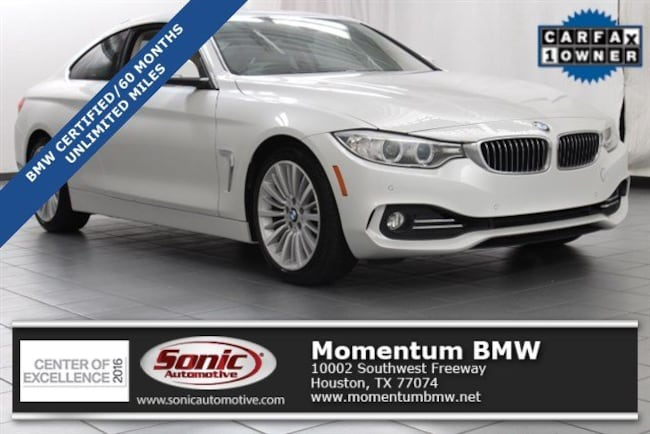 Certified Used 2015 BMW 428i Coupe in Houston