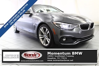 Certified 2019 BMW 430i 430i Gran Coupe in Houston