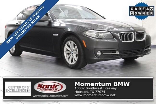 Certified Used 2016 BMW 528i Sedan in Houston