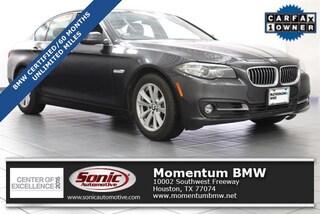 Certified 2016 BMW 528i Sedan in Houston