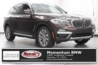 New 2019 BMW X3 sDrive30i SAV in Houston
