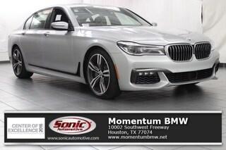 Used 2019 BMW 750i Sedan in Houston