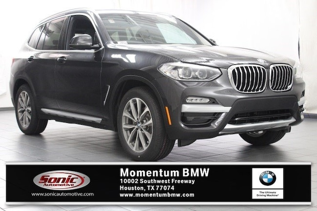 New 2019 BMW X3 xDrive30i SAV in Houston