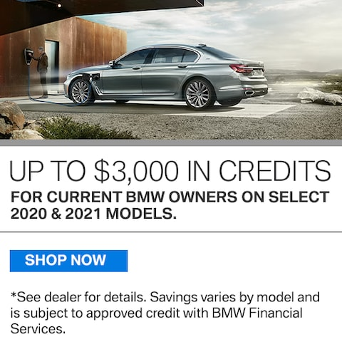 New Vehicle Special - Up to $3,000 in Credits
