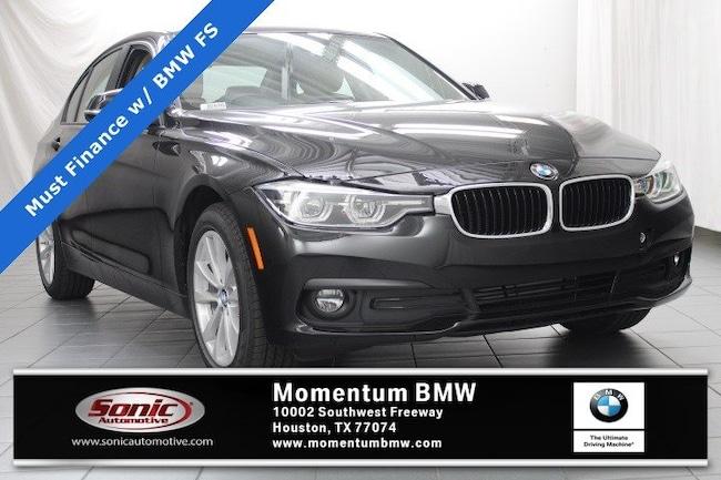 New 2018 BMW 320i Sedan in Houston