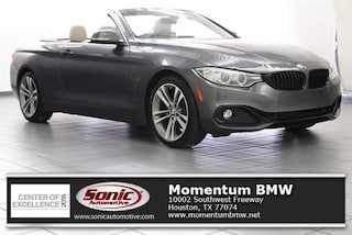 Used 2016 BMW 428i SULEV Convertible for sale in Houston