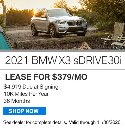 New Vehicle Special - 2021 X3