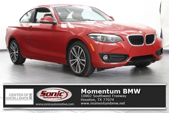 Used 2018 BMW 230i Coupe for sale in Houston