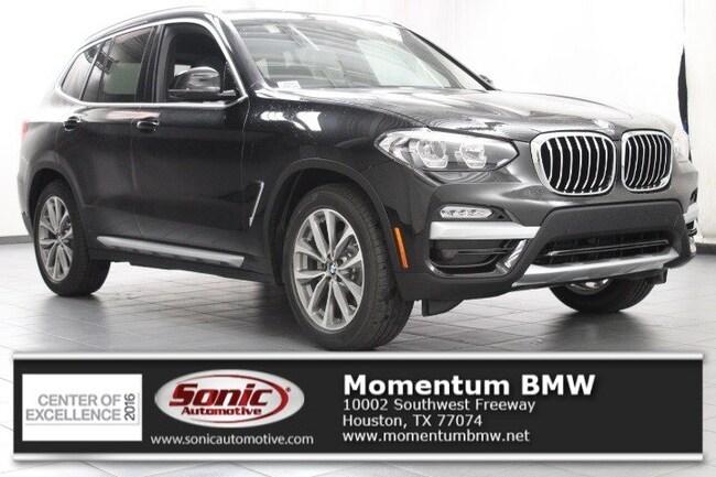 New 2019 BMW X3 sDrive30i SAV in Houston