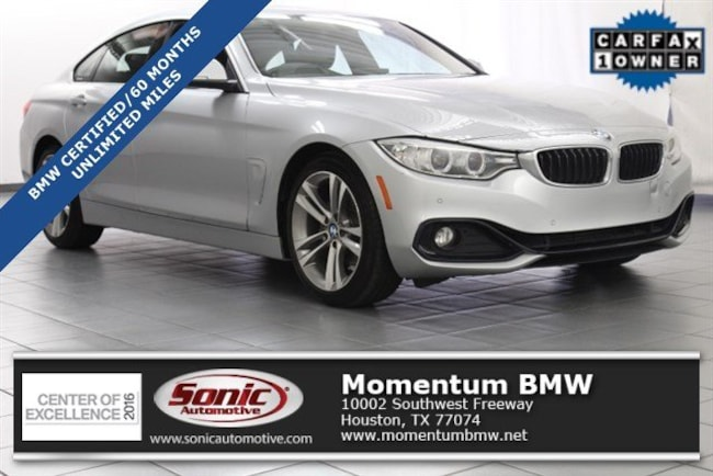 Certified Used 2016 BMW 428i 428i Gran Coupe in Houston