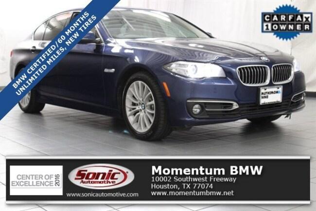 Certified Used 2015 BMW 528i 528i Sedan in Houston