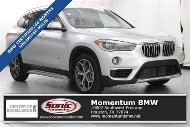 Certified Used 2017 BMW X1 SAV in Houston