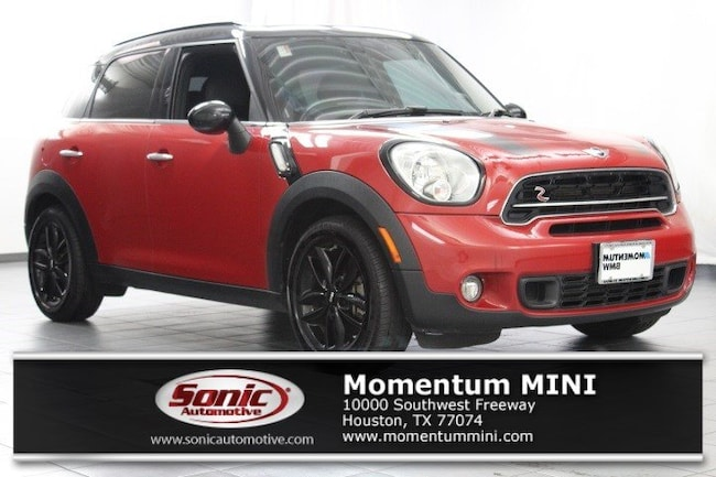 Used 2015 Mini Countryman Cooper S For Sale In Houston Tx Stock