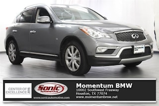 Used 2016 INFINITI QX50 3.7 with Premium Plus Package SUV BGM235019 for sale near Houston
