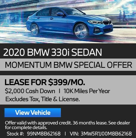 Executive Demo/ Loaner 2020 330i Sedan - Stock #99NM8B62168