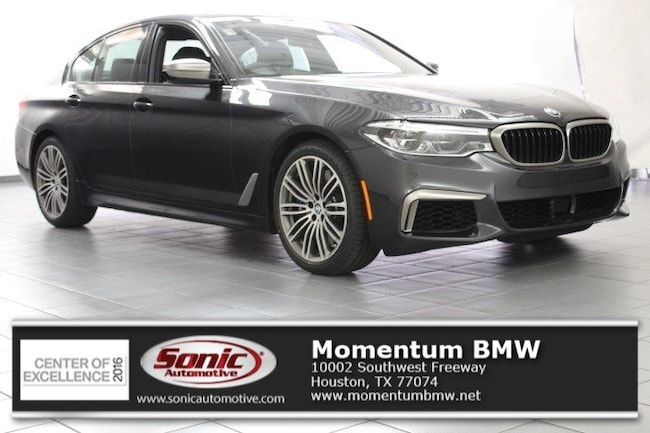 New 2019 BMW M550i xDrive Sedan in Houston